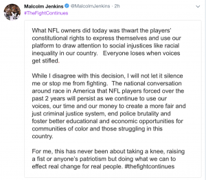 Jenkins tweet