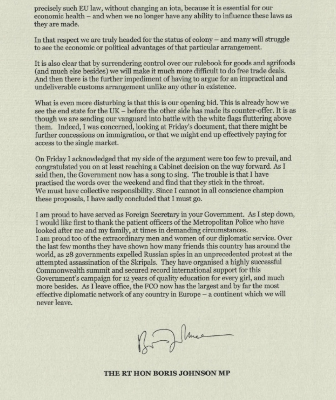 brexit letter