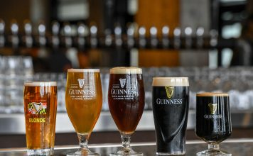 guiness brew selection