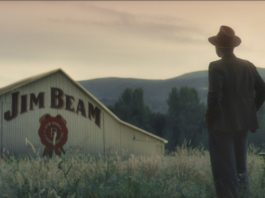 james b beam at jim beam distillery as part of raised right campaign