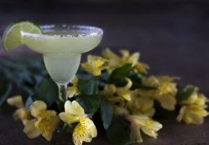 traditional margarita cocktail